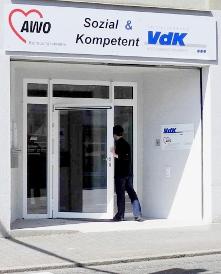 Eingangstür zum AWO Betreuungsverein Pirmasens e.V.