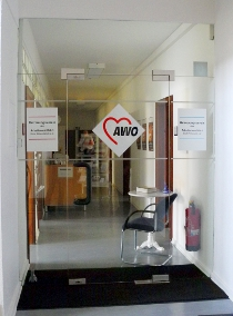 Eingang zum AWO Betreuungsverein Stadt Pirmasens e.V.